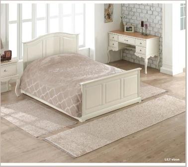 Soley 3'Lü Yatak Odası Halı Seti Lily Vizon